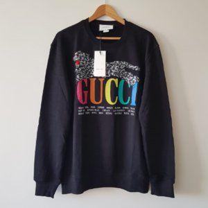Gucci Men Black Sweaters XXL